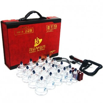 19 Cups Cupping Set Vacuum Body Massage Healthy Suction 10 Magnets Pump