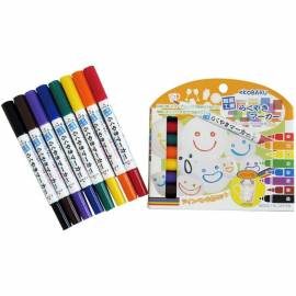 Ceramics Marker Vivid 8-Color Set DIY Porcelain Painter Pens Drawing