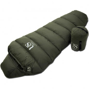 Goose Down Sleeping Bag Extreme Cold Premium Winter