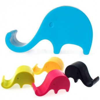 1 X Elephant Mobile Phone Holder Stand Interior Accessories