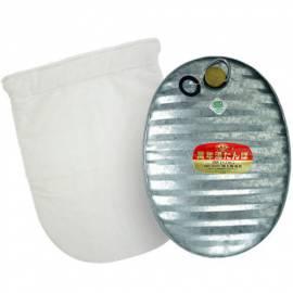 3.6L Hot Water Bottle Zinc Steel Heat Warm Camping Matal Japan