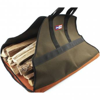 Firewood Carrier Bag Log Fire Wood Tote Canvas Carrying Bag Holder