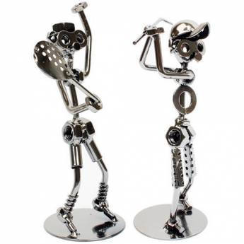 Doll Steel Metal Home Decoration Art Interior Accessories