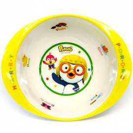 Pororo Toddler Tableware Soup Bowl Melamine Ellipse Food
