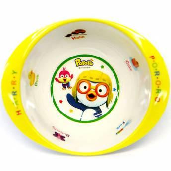 Pororo Toddler Tableware Soup Bowl Melamine Ellipse Food