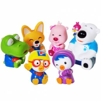 Pororo Character Friends Set Bath Water Gun 6pcs Kids