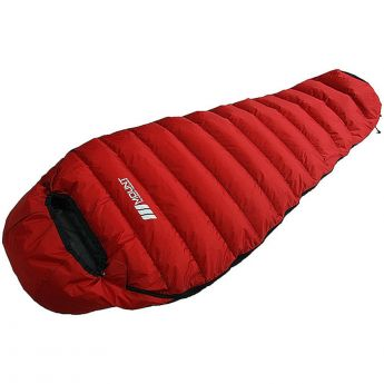 Duck Down Sleeping Bag 600g Red 3 Season Camping Korea
